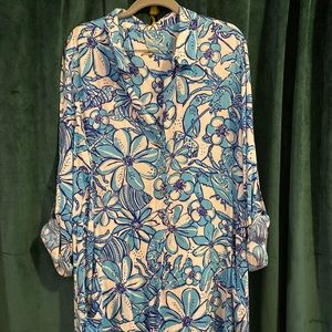 Lilly Pulitzer XL Lilith Tunic Dress